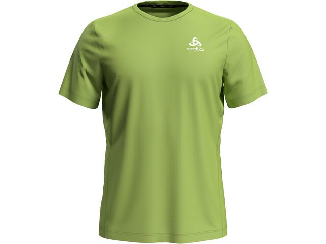 Odlo Element Light Camiseta Manga Corta Hombre, green glow